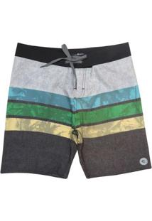 Bermuda Boardshort Wss Waves Hawaii Color 20 Masculina - Masculino