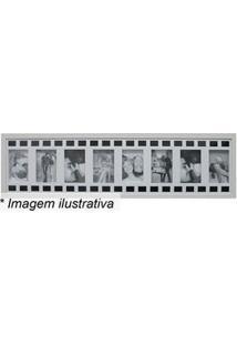 Kapos Painel Para 8 Fotos Branco & Preto 25X100X3Cm