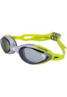 Óculos De Natação Speedo Hydrovision - Adulto - Verde Cla/Cinza Cla