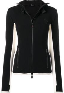 Moncler Grenoble Hooded Sports Jacket - Preto