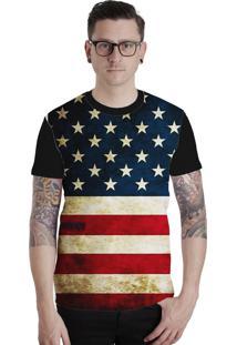 Camiseta Lucinoze Manga Curta 129 Preta