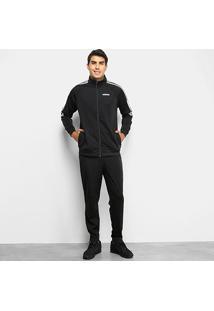Agasalho Adidas Sere 19 Masculino - Masculino-Preto+Branco