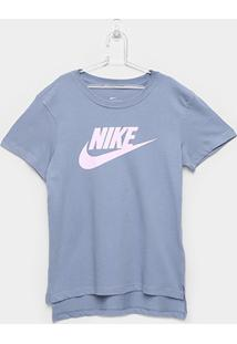 Camiseta Infantil Nike Tee Basic - Feminino