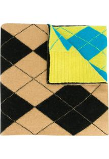 Pringle Of Scotland Echarpe Reissued - Amarelo