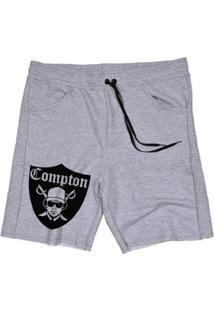Bermuda Moletom Compton Masculina - Masculino