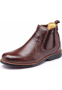 Bota Dr Shoes Elástico Pinhão