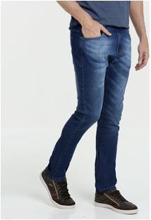 Calça Masculina Jeans Stretch Skinny Marisa
