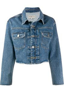 Fiorucci Berty Cropped Denim Jacket - Azul