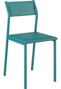 Kit 2 Cadeiras 1709 Napa Móveis Carraro Azul