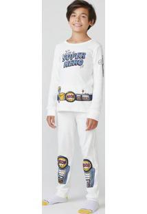 Pijama Infantil Menino Em Ribana
