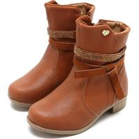 ed022eebf Bota Para Menina Caramelo Klassipe infantil | Shoes4you