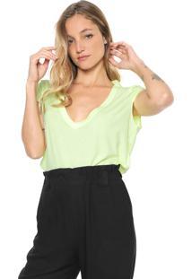 Camiseta Forum Neon Verde
