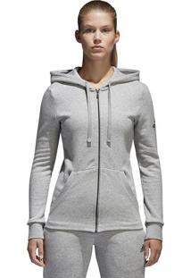 Jaqueta Ess Solid Fz - Cinza - Adidasadidas
