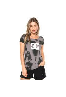 Camiseta Dc Shoes Star Crystal Cinza