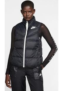 Colete Nike Sportswear Down Vest Feminino - Feminino-Preto