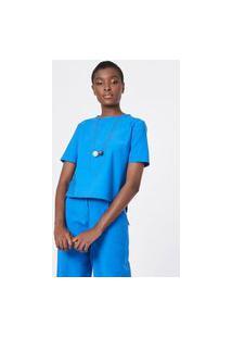 T-Shirt Azul Capri