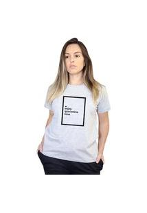Camiseta Boutique Judith Enjoy Quarantine Time Cinza