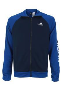 Agasalho Adidas Marker - Masculino - Azul Esc/Azul