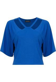 T-Shirt Decote Olympiah Camino Bic Blue