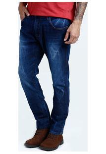 Calça Masculina Jeans Slim Stretch Marisa