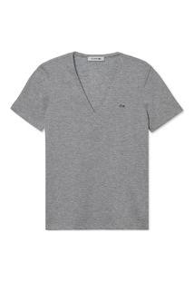 Camiseta Lacoste Cinza