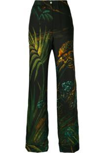 Alanui Calça De Pijama Com Estampa Monkey Jungle - Preto