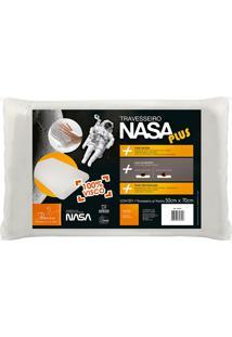 Travesseiro Nasa Plus - Fibrasca - Branco