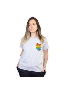 Camiseta Boutique Judith Be You Cinza