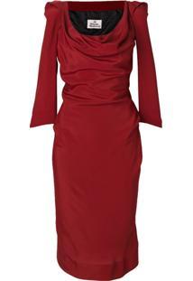 Vivienne Westwood Vestido Tubinho - Vermelho