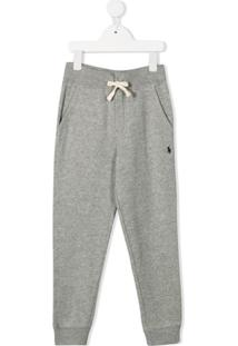 Ralph Lauren Kids Jersey Sweatpants - Cinza