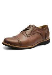 Sapato Social Shoes Grand Veneza Marrom Tamanho Especial