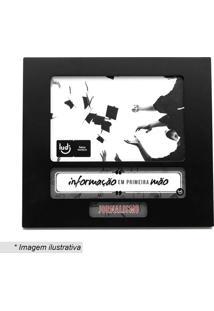 Porta Retrato Profissão Jornalismo- Preto & Branco- Ludi