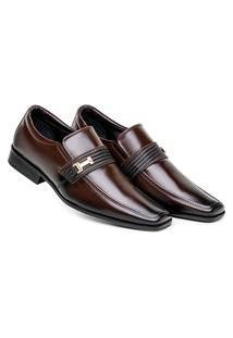 Sapato Café Social Masculino Premium Conforto E Durabilidade