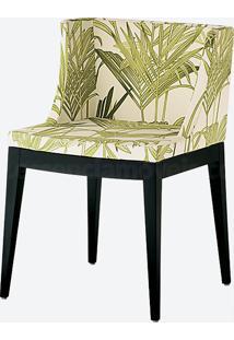 Cadeira Christie - Bamboo (Base Preta)