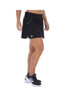 Short Saia Adidas Club - Feminino - Preto
