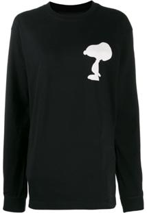 Marc Jacobs Camiseta Com Estampa Snoopy - Preto