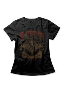 Camiseta Feminina Black Sabbath The End Preto