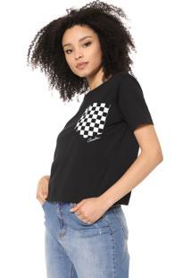Camiseta Cavalera Bolso Race Preta