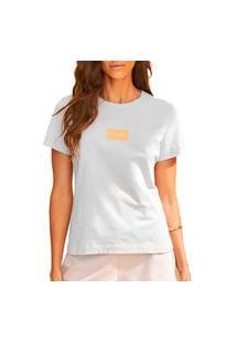 Camiseta Forum Fran Off Shell Feminina