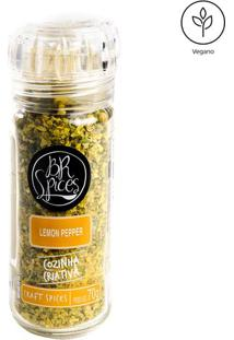 Lemon Pepper Moedor- 70G- Br Spicesbr Spices