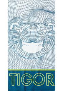Toalha De Praia Tigor T. Tigre Infantil 802039860001 Azul