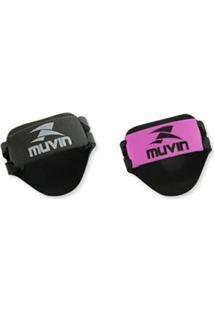 Luvas Eva Musculação Ajustável Collor Muvin - 10 Pcs - Unissex