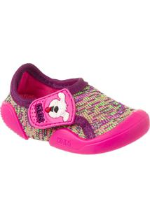 Sapato Infantil Klin New Comfort - Feminino-Rosa