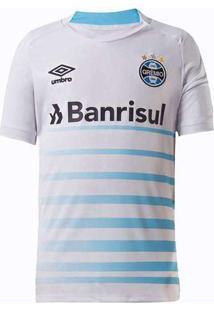 Camisa Umbro Grêmio 2021 Ii Sem Número Infantil Br