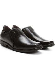 bb85fdaa68 Sapato Social Couro Pegada Bico Quadrado - Masculino