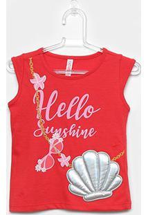 Blusa Infantil Cativa Sunshine Feminina - Feminino