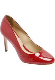 1aa41b6b9 Sapato Tradicional Em Couro- Vermelho- Salto: 8,5Cmdumond