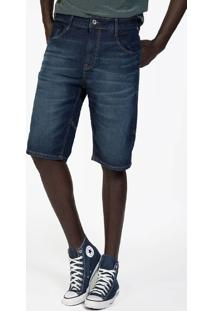 Bermuda Masculina Jeans Tradicional Stone Esc - Jeans - Masculino - Dafiti