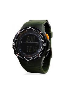 Relógio Skmei Digital -0989- Verde Militar