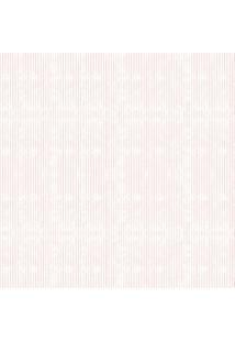 Papel De Parede Coleção Bambinos Rosa Branco Listras 3352 Bobinex